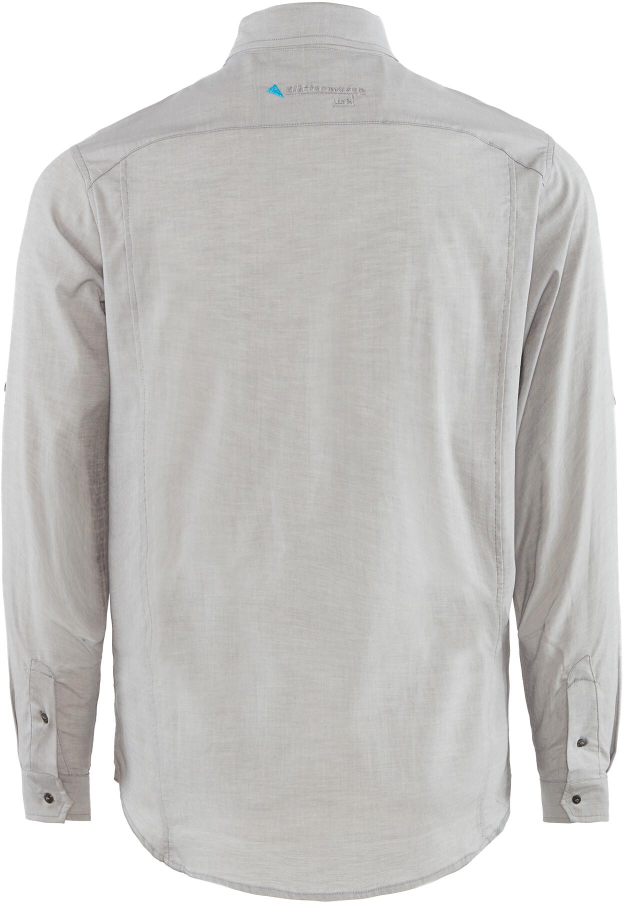 Klättermusen Klättermusen Klättermusen M's Lofn Shirt Grå Melange 4395f4